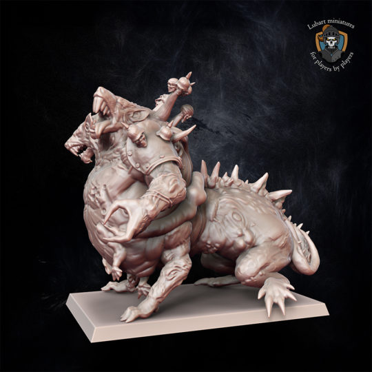 The Vermin Swarm Abomination miniature