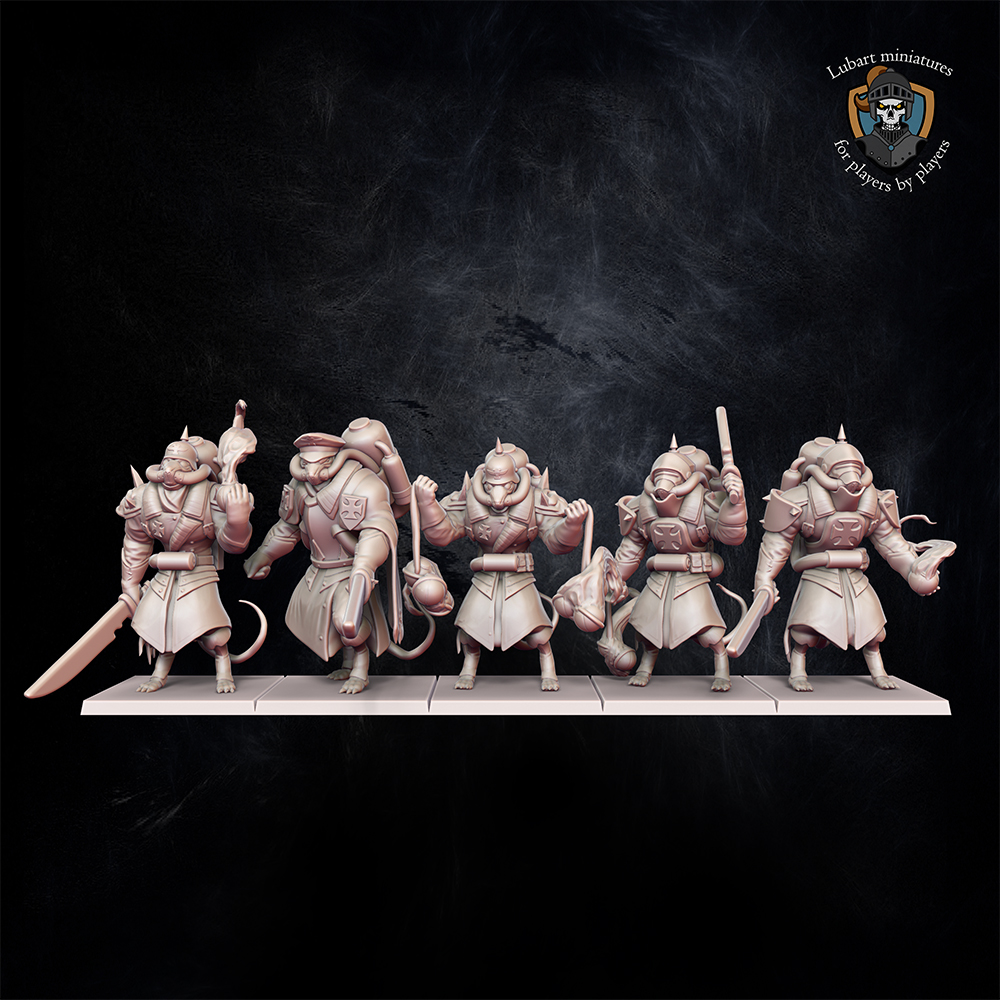 Grenadiers The Vermin Swarm miniatures