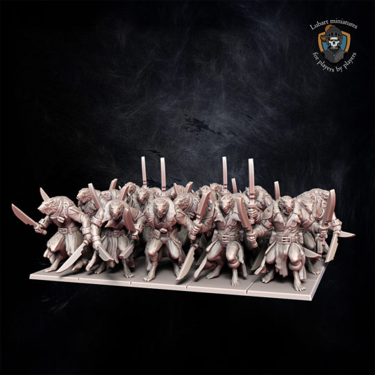 Plague Brotherhood The Vermin Swarm miniatures