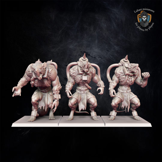 Vermin Hulks The Vermin Swarm miniatures