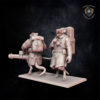 Weapon Team (Rotary Gun) The Vermin Swarm miniature