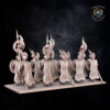 Necropolis guard. Miniatures for the Undying Dynasties army.