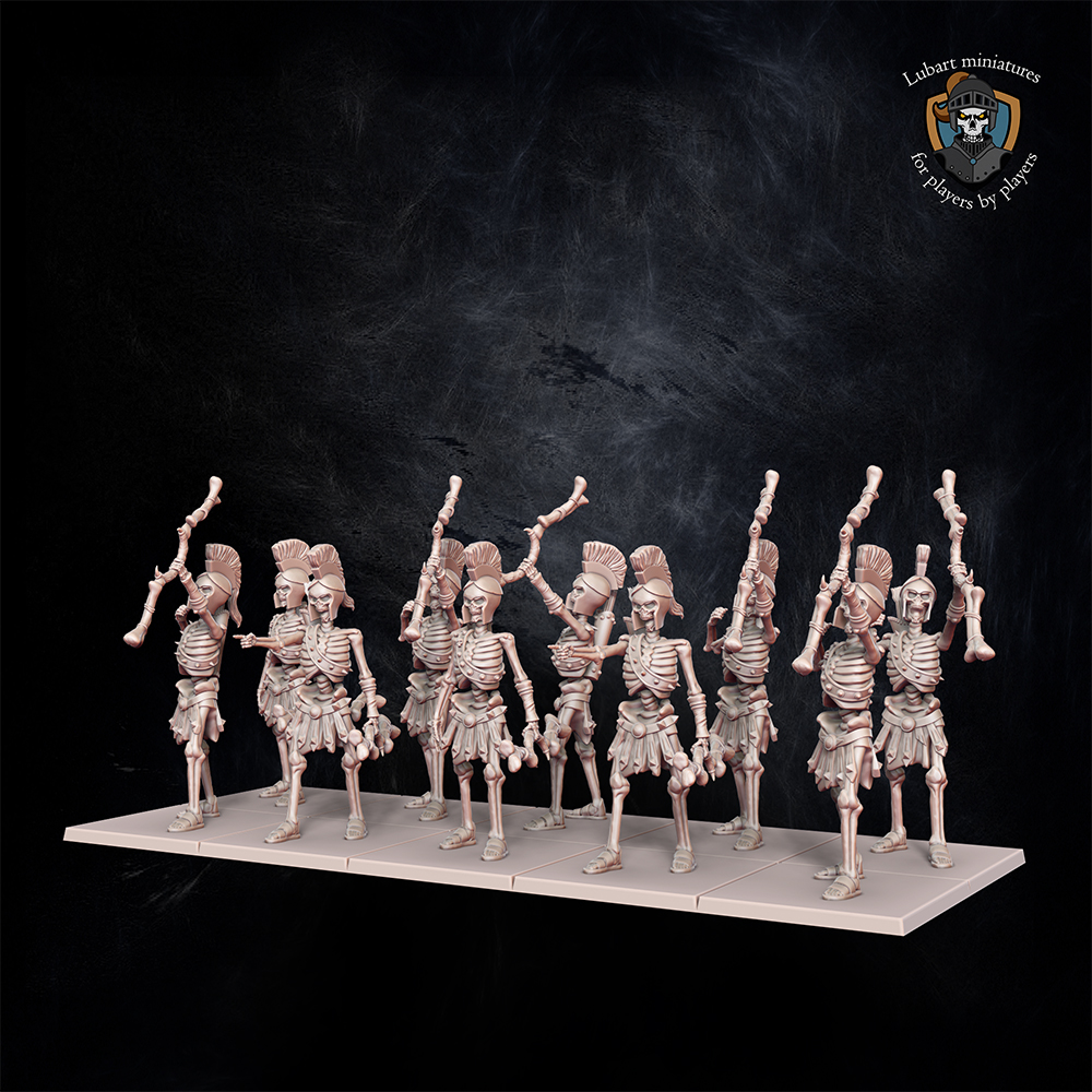 Skeleton Archers. Miniatures for Undying Dynasties