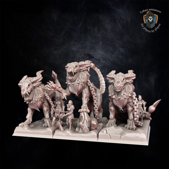 Tomb cataphracts. Miniatures for the Undying Dynasties army.