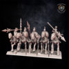 Skeleton Cavalry. Miniatures for Undying Dynasties.