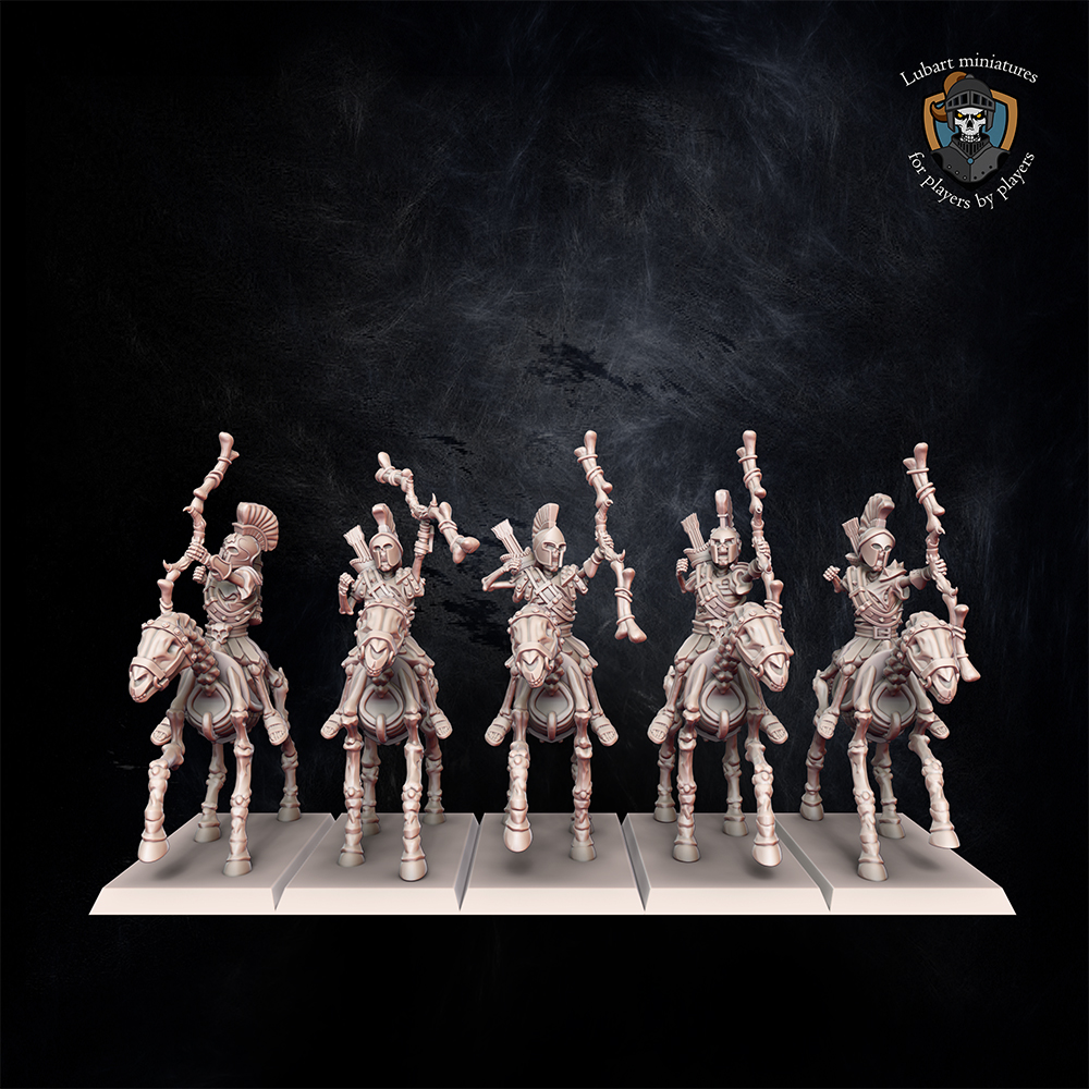 Skeleton Scouts. Miniatures for Undying Dynasties