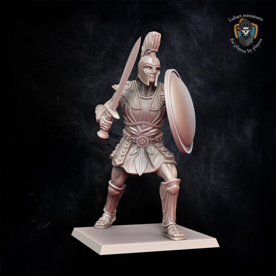 Colossus. Miniatures for the Undying Dynasties army.