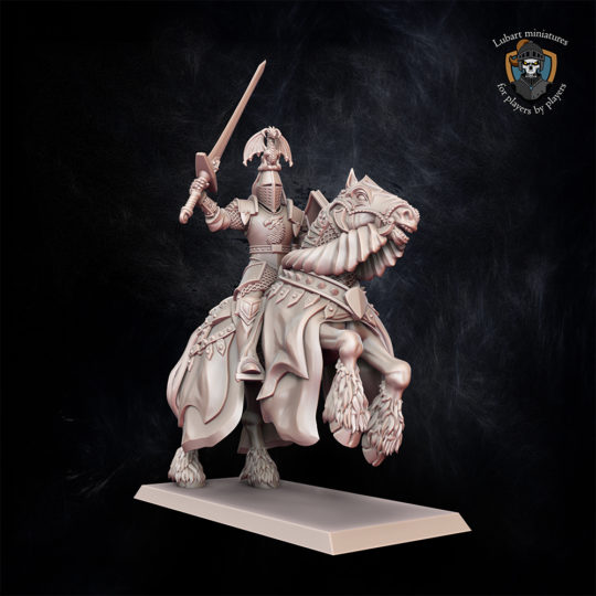 Kingdom of Equitaine Duke Kingdom of Equitain miniature