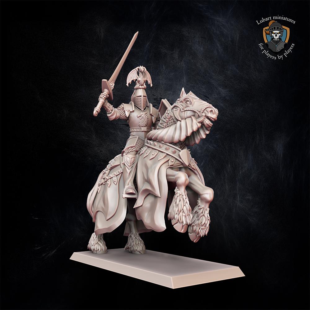 Kingdom of Equitaine Duke Kingdom of Equitain miniature