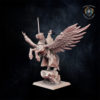 Paladin on Pegasus Kingdom of Equitain miniature