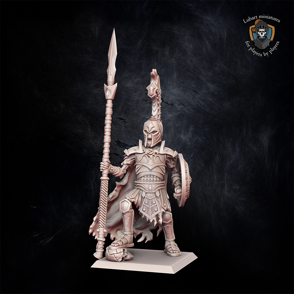 Greece nomarch on foot miniature for Undying Dynasties