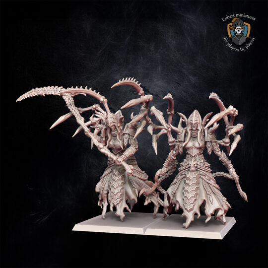 Tomb Reapers. Miniatures for the Undying Dynasties army.