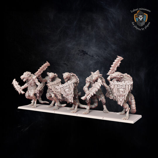Rat-at-arms . The Vermin Swarm miniatures