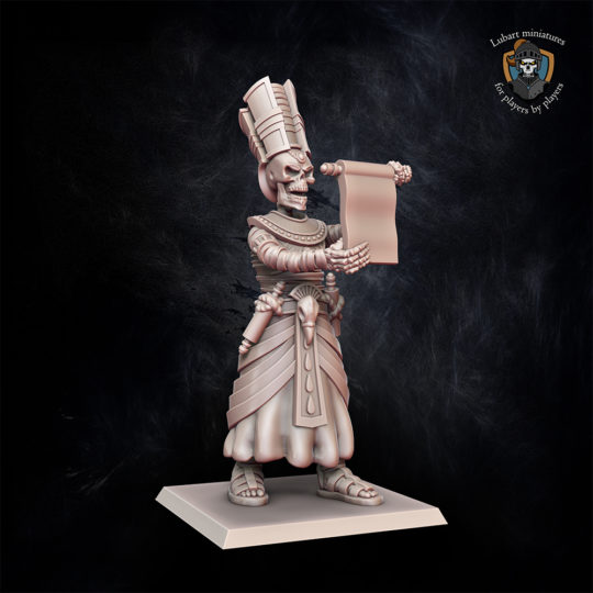 Tomb Architect miniature for Undying Dynasties