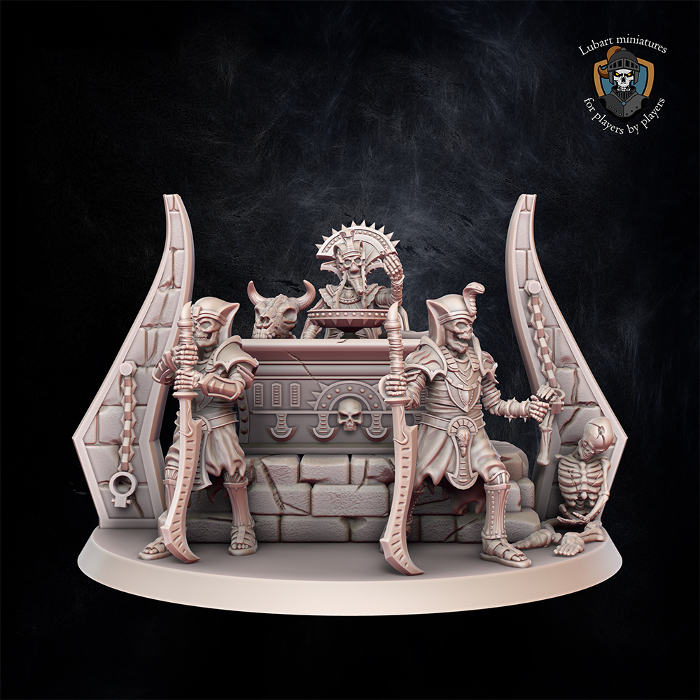 Casket of Phatep. Miniature for Undying Dynasties