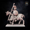 Hero on horse miniature for Undying Dynasties