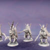 Dread Knights. Miniatures for the Dread Elves army.
