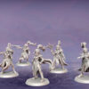 Raven Cloaks. Miniatures for the Dread Elves army.