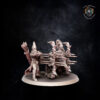 Repeater Battery. Miniatures for the Dread Elves army.