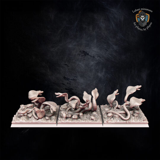 Scarab Swarms. Miniatures for the Undying Dynasties army.