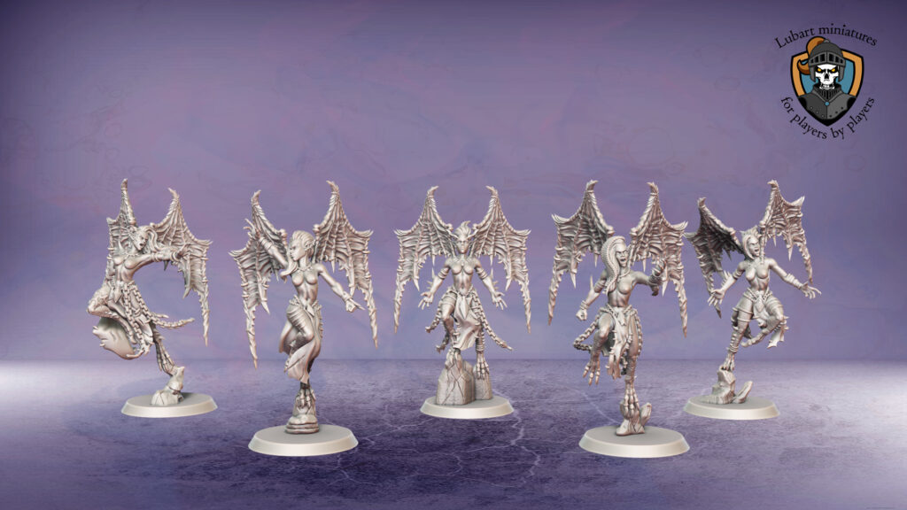 3d and physical miniatures