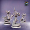 Gorgons. Miniatures for the Dread Elves army.
