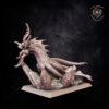 Kraken. Miniatures for the Dread Elves army.